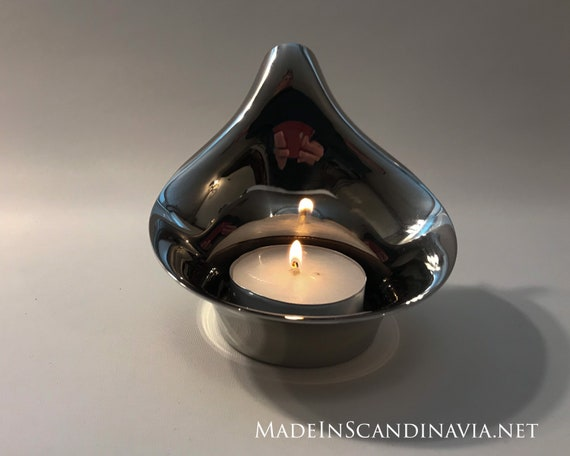 Georg Jensen Lilia tealight - Large