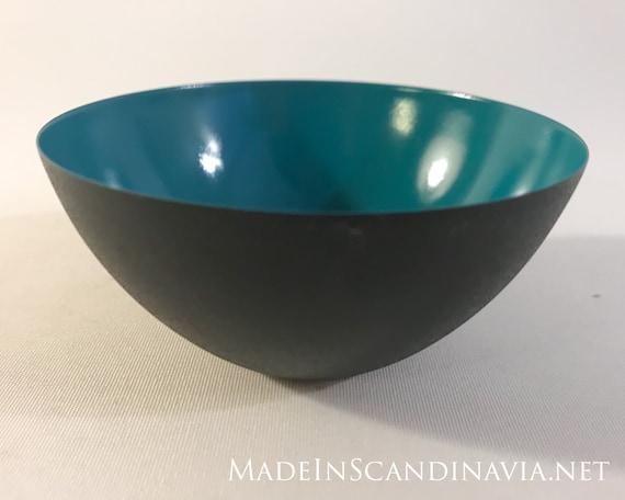 Normann Copenhagen KRENIT bowl, Dark green - small