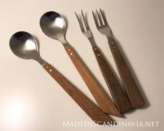 Mid-century modern Danish Design spoons and forks