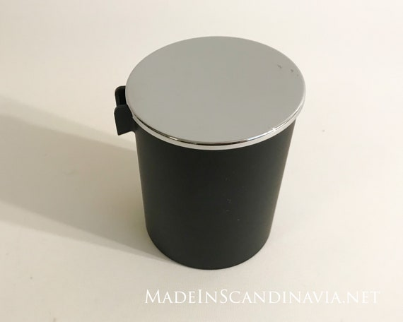 Stelton Erik Magnussen cream jug, black and steel