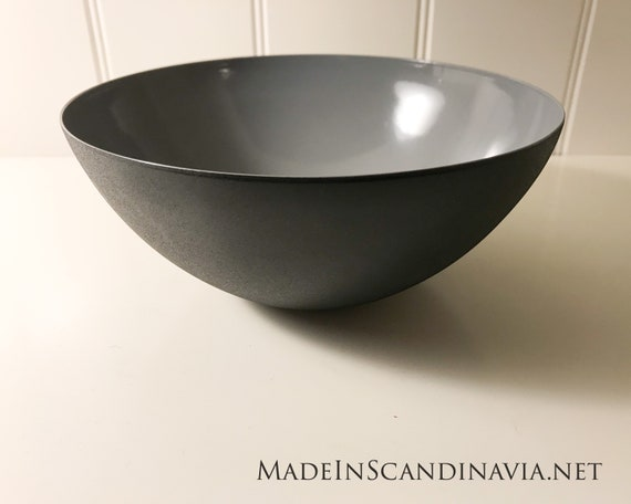 Normann Copenhagen KRENIT bowl - Grey