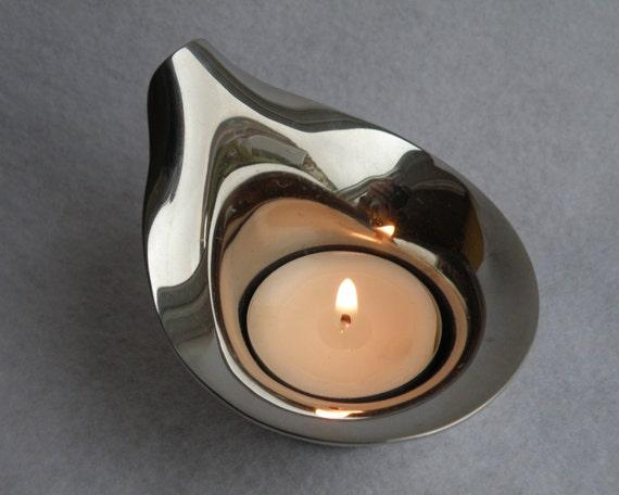 Georg Jensen Lilia tealight