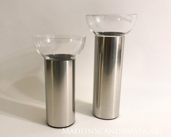 Georg Jensen Olympia candle holders 2 pcs