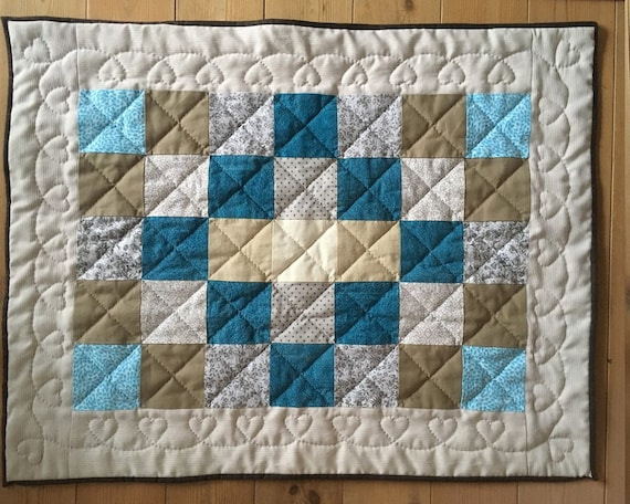 Beautiful quilt for a beautiful Babyboy