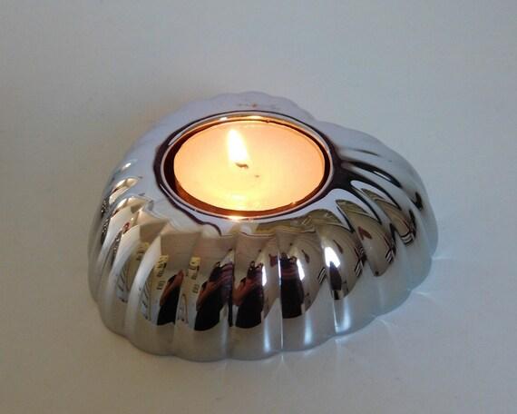 Georg Jensen LEGACY Heart Tea-Light Holder - pair