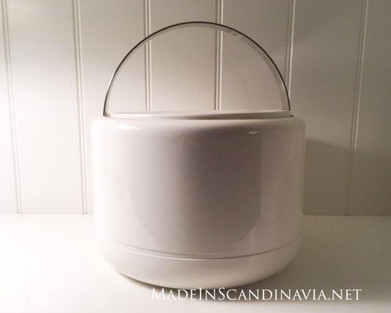 Stelton Ice Bucket - white