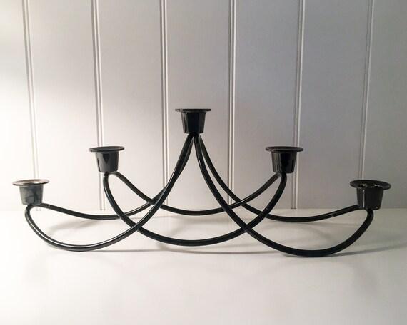 Georg Jensen HARMONY candleholder - BLACK