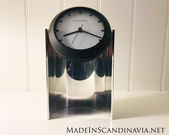 Georg Jensen Lene Munthe design table clock