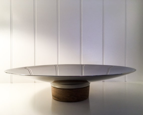 Stelton Reflection Tray in steel and oak