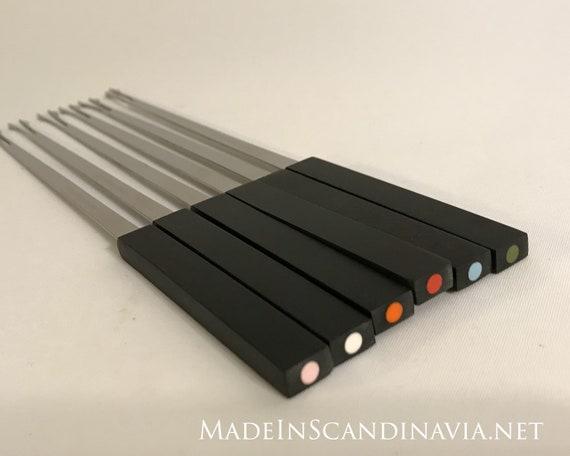 Stelton Fondue forks - set of six