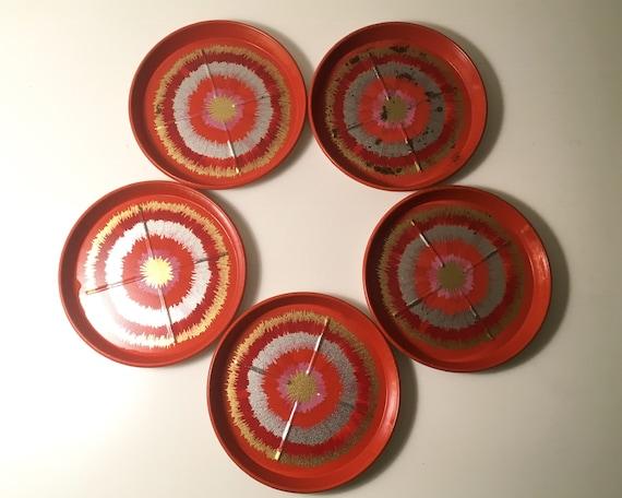 Anita Wangel IRA coasters - set of five