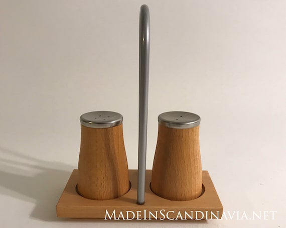 Bodum Salt and Pepper shakers w. Holder