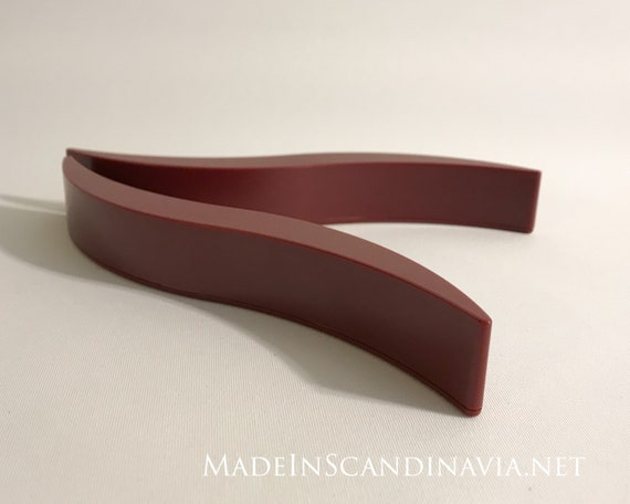 Georg Jensen/Royal Copenhagen Trivets - red pair
