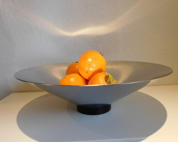 Georg Jensen Royal Copenhagen COMPLET stainless steel bowl - large