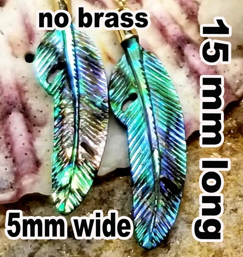 ALICIA CUSTOM Wholesale order of 20 pcs Feather Necklace  image 0