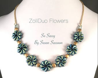 ZoliDuo Flower Necklace