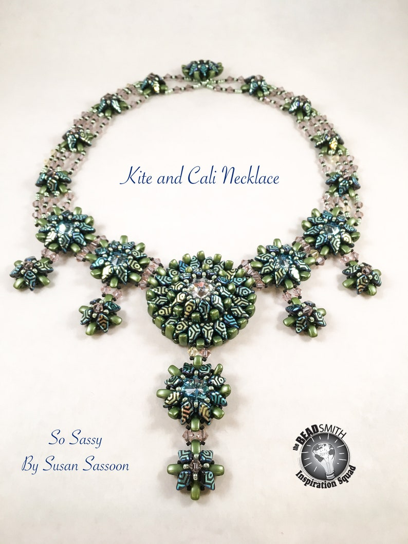 Kite and Cali Necklace Tutorial