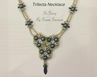 Trifecta Necklace Tutorial