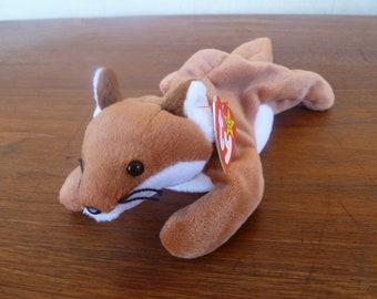 Vintage Plush Beanie Baby Fox