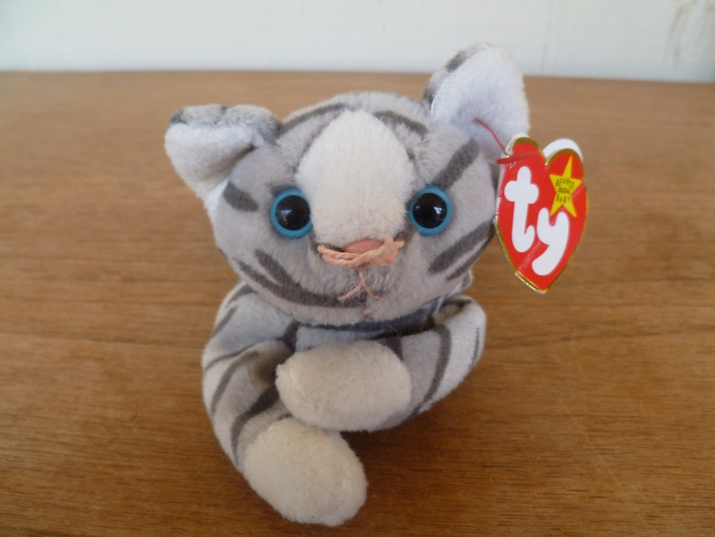 9e6a73900f7 Vintage Plush Beanie Baby Stripped Cat Prance