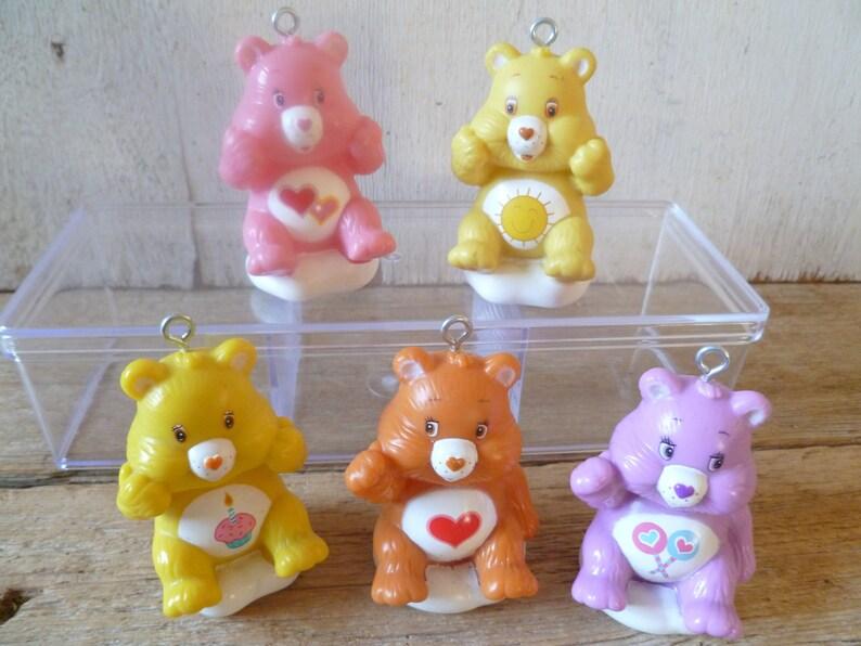 Mcdonalds Christmas Ornament.Care Bear Christmas Ornament Mcdonalds Happy Meal Toys Set Of 5