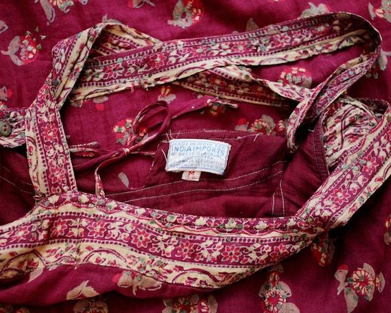 Vintage India imports of Rhode Island thin cotton… - image 3
