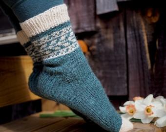 Knitting Pattern *Fannrem Sokker*