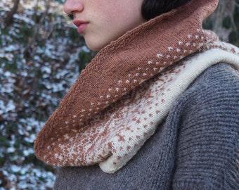 Cowl Knitting Pattern *Hoar Frost*
