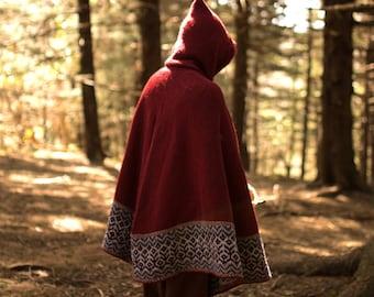 Knitting Pattern *Seer Cloak*