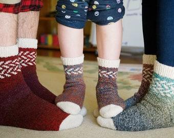 Knitting Pattern *Cozy Sunday Socks*
