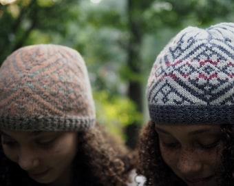 Knitting Pattern *Mountain Laurel Hat*
