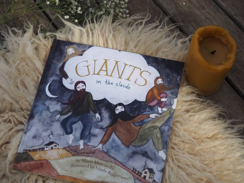 Giants in the Clouds  Illustrated Children's Picture image 0