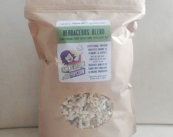Herbaceous Blend Popcorn - 6 bags of Gourmet Popcorn - Made in Vermont - naturally buttery - herbs, spices & sea salt