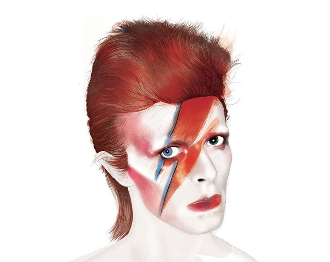 Featured listing image: David Bowie - Aladdin Sane