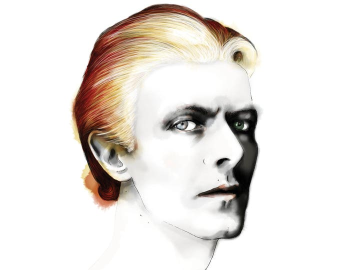 Featured listing image: David Bowie - Thin White Duke