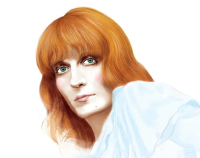 Featured listing image: Florence and the Machine - Florence Welch - High as Hope