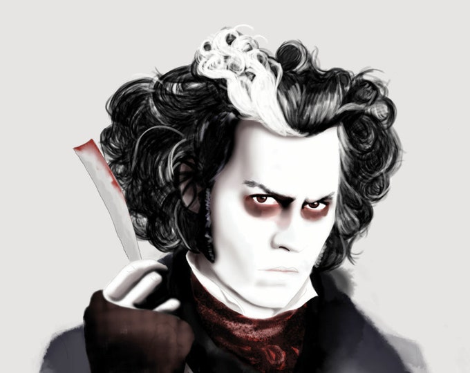 Sweeney Todd - Johnny Depp