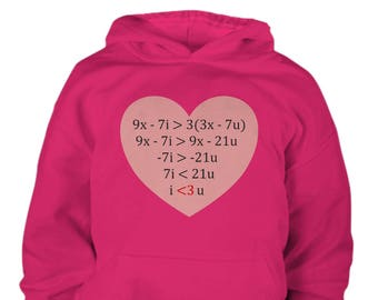 Youth Equation of Love - Math Hoodie