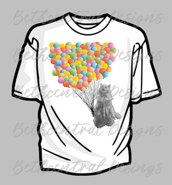 diy 100th day of school 100 balloons with cat iron on etsy 100th Birthday Cake Designs image