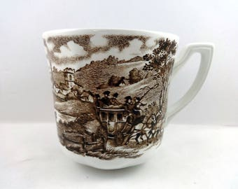 Coffee Tea Cup Mug Stratford Stage Royal Staffordshire Ironstone Meakin