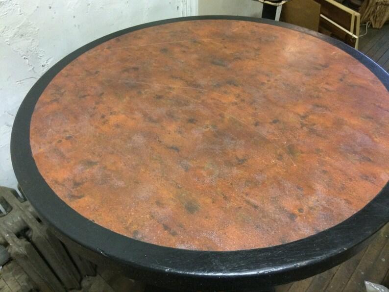 Custom made Art Deco Style bar Table 41 ht