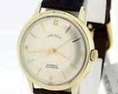 Automatic Lord Elgin Wrist Watch 14K Gold