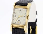 14K Gold Bulova Wrist Watch