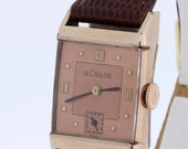 Le Coultre Gold Filled Wrist Watch