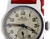 Rustless Steel Mido Multifort Automatic Swiss Movement Wrist Watch
