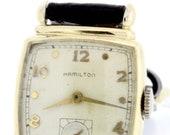 14K Goldfilled Hamilton Wrist Watch 1940s