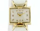 LeCoultre 14K Yellow Gold Wrist Watch Ladies