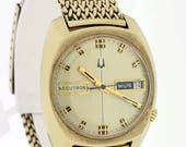 10K rolled gold plate Accutron Wrist watch