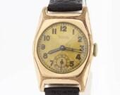 Gold filled 1940s Tudor wrist watch