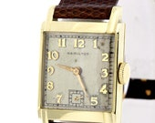 14K Gold Filled Hamilton Wrist Watch